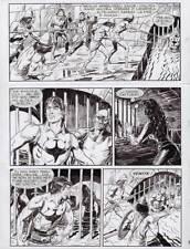 """GALLIENO FERRI -  Zagor  n. 477 """" La città nella palude """" p. 97"""