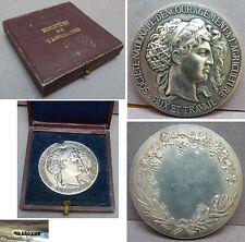 Médaille AGRICULTURE PAIX ET TRAVAIL en argent massif silver medal