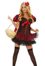 Crossdresser Sissy  Little Red Riding Hood Cosplay,Or Roleplay Costume Size L
