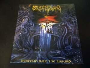 FLESHCRAWL DESCEND INTO THE ABSURD ULTRA RARE LP DEATH METAL OBITUARY AUTOPSY