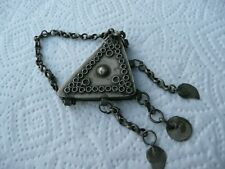pendentif ancien bijoux parure berbère magreb TUNISIE