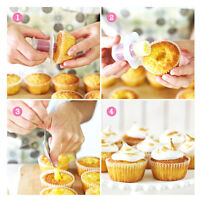 Cupcake corer muffin hole core cream jam filler cutter filling decorating C uh
