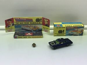 Original Corgi MAN FROM UNCLE with Ring, Thrush-Buster Diecast #497