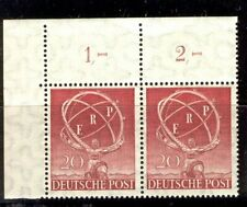 {ABC-10a} – Germania Fed. (Berlino) - 1950  ERP  2 v.   ** MNH