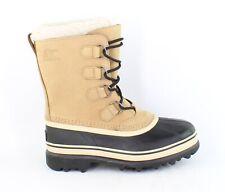 SOREL Womens Caribou Buff Snow Boots Size 8.5 (1407685)