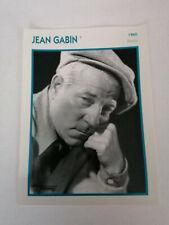 Jean Gabin - Fiche cinéma - Portraits de stars 13 cm x 18 cm