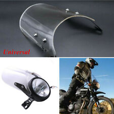"""Fit for 5""""&7"""" Round Headlights Frame Holder Motorcycle Windshield Windscreen Kit"""