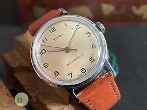EXCELLENT vintage winding watch TIMEX SPRITE GB SERVICED 1974 M24 (SERVICED)
