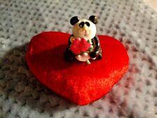 Valentine's gift Collectibles Panda Bear Handmade Miniatures Animals Figurines