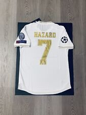 Eden Hazard Soccer Jersey Player Version Real Madrid Home Small