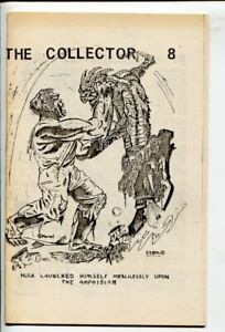 Collector #8 1968-Hulk cover by Terry Stroud-Collectors info-by & sell ads-Th...