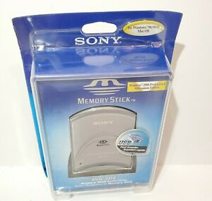 Sony USB Interface Card Reader for Memory Stick - PC/Mac (MSAC-US1A)