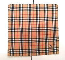 Burberry Bandana Pocket Square Mini Scarf Handkerchief Neckerchief Nova Check 4