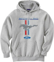 Big and tall hoodie sweatshirt Ford Mustang men's big and tall clothing shirts