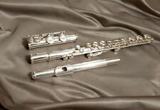 Refurbed FLAUTO YAMAHA YFL 211 SII S in argento placcato Made in Japan W Custodia Rigida 212
