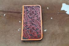 Western Cell Phone Cover Iphone 6+ Leather Cowboy Case Protect Floral Fashion