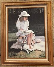 """Afternoon Storytime by Melinda """"Pudge"""" Byers , Certified, Framed"""