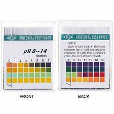 Universal pH Test Paper 100 Strips for Test Body Acid Alkaline pH Level Skin