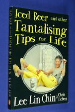 ICED BEER AND OTHER TANTALISING TIPS FOR LIFE Lee Lin Chin FUNNY BOOK SBS NEWS
