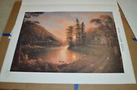 """Jesse Barnes The Light Painter """"Peaceful Evening"""" Limited Edition Signed Print"""
