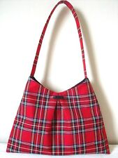 Royal Stewart Tartan plaid Handbag / Shoulder Bag / Purse handmade in Scotland