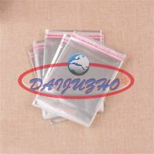 500pcs 3x7cm Wholesale Lots Self Adhesive Seal Plastic Bags New