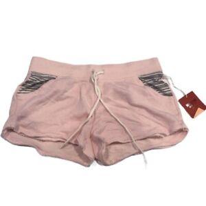 Mossimo Sweatpant Shorts Light Pink Size Medium
