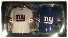 New York Giants NFL Shirt Jersey Salt & Pepper Pots Shaker Set