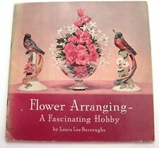 """1940 Booklet """"Flower Arranging - A Fascinating Hobby"""" A Coca-Cola Promotion *"""
