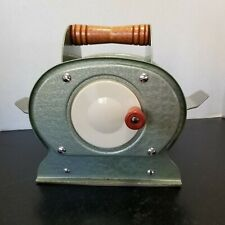 Vtg Nestor Johnson Co. 1950'S Card Shuffler Handcrank Wood Handle Good Condition