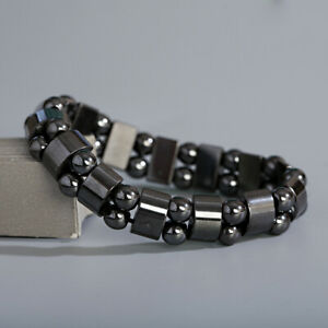 Magnetic Healing Therapy Bracelet Arthritis Hematite Weight Loss Pain Relief New
