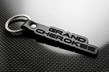 Handmade Leather Keychain Keyring for Jeep Grand Cherokee