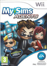 MYSIMS MY SIMS AGENTS for Nintendo Wii - with box & manual - PAL