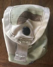 Molle Hand Grenade Pouch US MILITARY ISSUE USGI SURPLUS 3-COLOR Desert Camo DCU