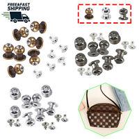 100pcs Chicago Studs Diamante Crystal Knob Rivets Pin DIY Leathercrafts Jackets
