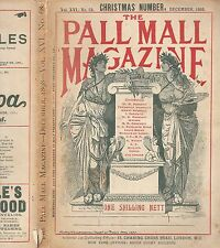 "The Pall Mall Magazine-VOL. XVI. Nº 68 ""Christmas Number"" December 1898"