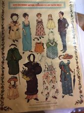 *Nos & Sealed!* vintage Kate Greenway Cut-Out Paper Dolls ~ nice display!
