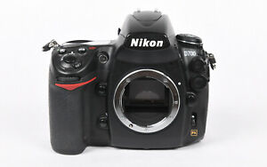 Nikon D700 Digital SLR camera - body only. Excellent condition.