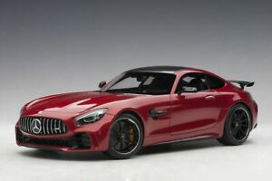 1:18 Mercedes Benz GT R AMG by AUTOart in Cardinal Red 76331