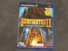 Gunfighter 2 Revenge of Jesse James PS2 Complete FAST & FREE Postage PAL RARE