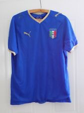 ITALY PUMA RARE HOME 2008 09 Football Shirt Jersey Maglia Camiseta Retro Top f2d87aacf494d