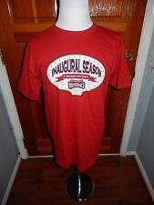NEW Washington Nationals Inaugural Season A Season of Firsts Red Large T-Shirt