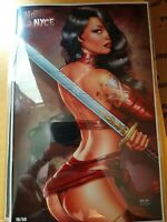 NOTTI & NYCE RB WHITE ARTIST PROOF #16 red cover vf/nm