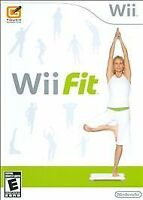 Wii Fit (Nintendo Wii, 2008) - Complete In Box With Manual
