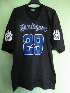Maillot Winnisquam football Americain shirt #29 USA Jersey Vintage - XL