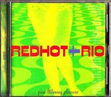 RED HOT + RIO The Best of VA CD (George Michael/Milton Nascimento/David Byrne)