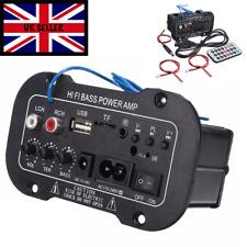 Car Bluetooth 2.1 Hi-Fi Bass Power AMP Car Mini Digital Amplifier Audio USB ald