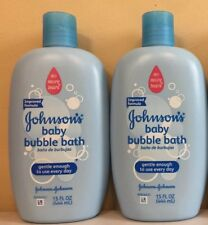 Johnson's Baby Bubble Bath & Wash 15oz ( 2 pack ) Free Shipping