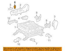 TOYOTA OEM 10-13 4Runner Seat Track-Seat Adjust Knob Right 8492160170E1