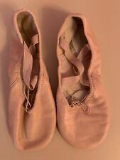 Girls dance/ballet shoes Capezio size M beige good condition